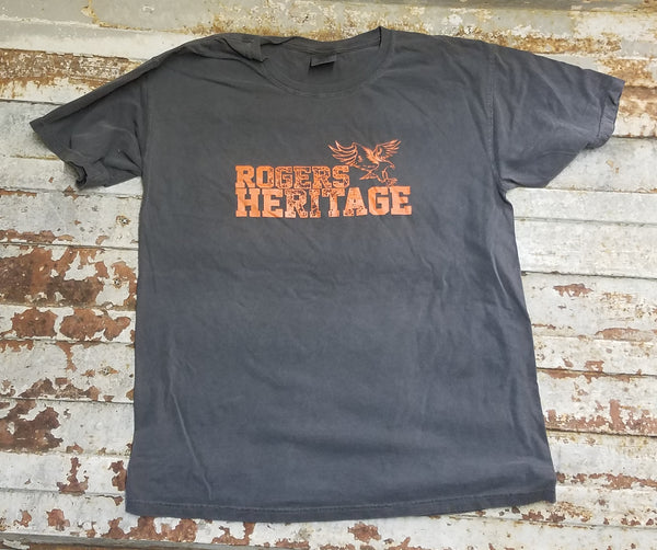 ROGERS HERITAGE Comfort Colors short Sleeve Pepper Grey Tee
