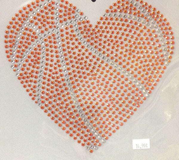Basketball Shaped Heart