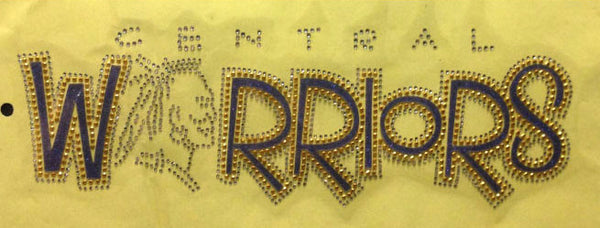 Central Warriors Rhinestones