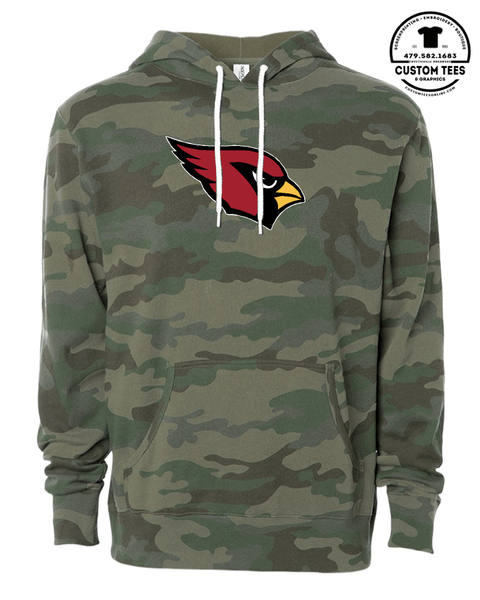 Farmington Cardinals Mascot Hoodies