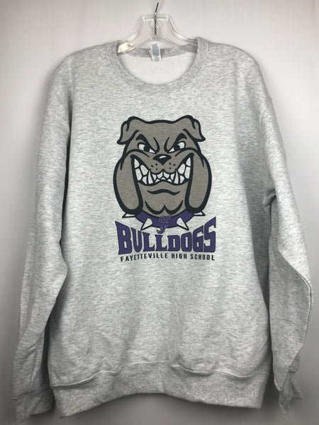 Front Facing Bulldog Sweatshirt