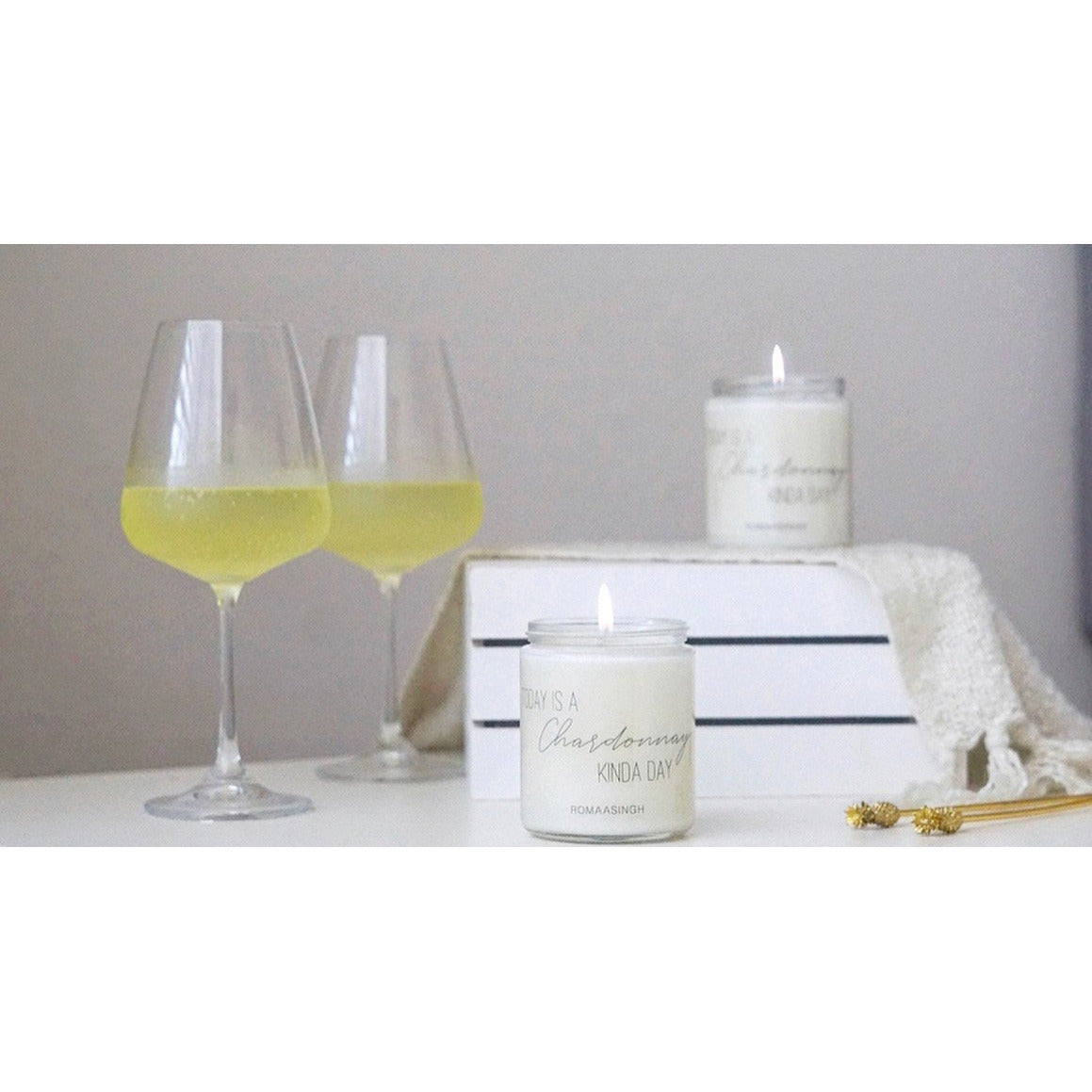 TODAY IS A CHARDONNAY KINDA DAY - AROMATHERAPY SCENTS