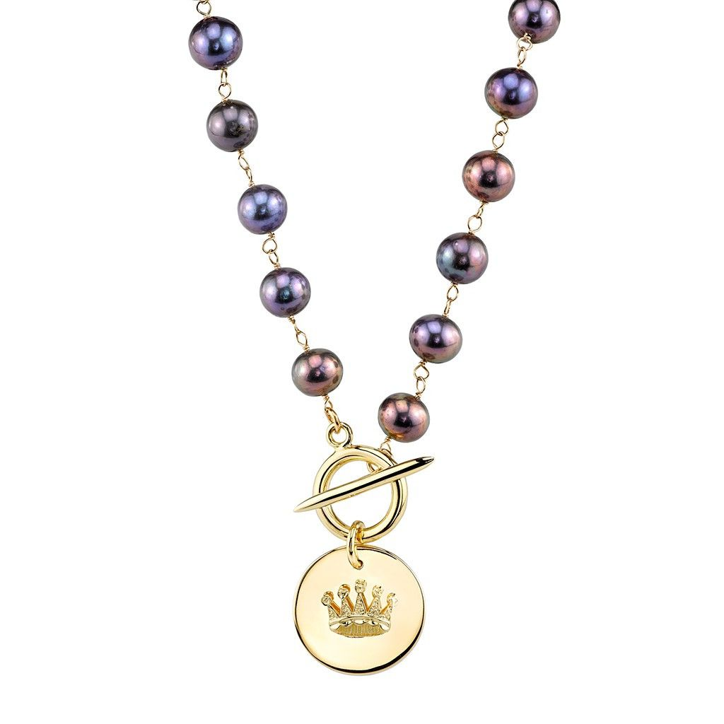Pearl Crown Necklace