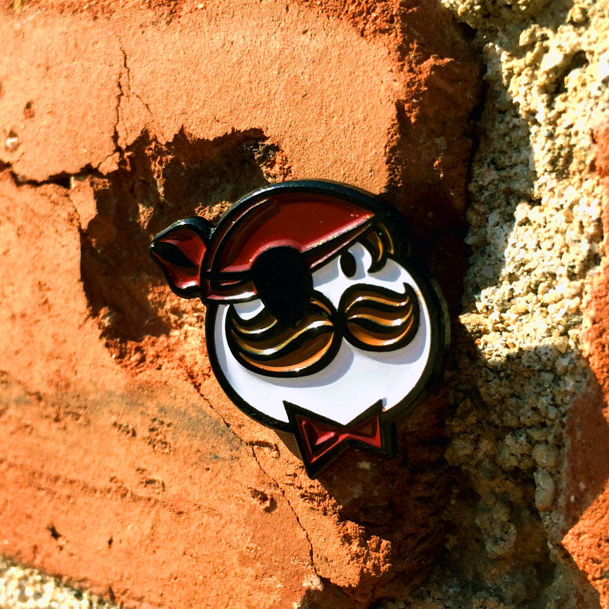 """Capt. Piracy"" Pin"