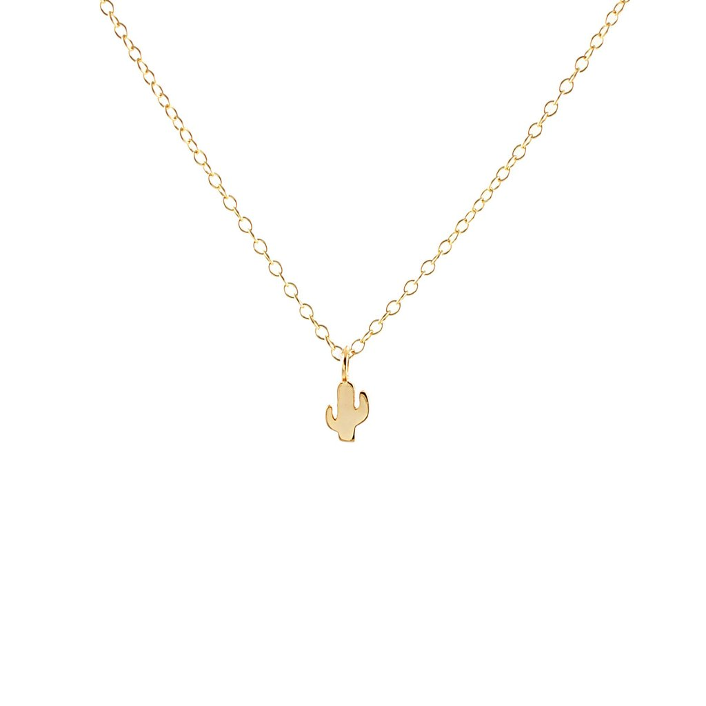 Cactus Charm Necklace, Accessories - shoplagreen.com