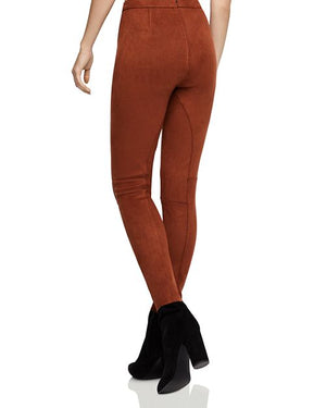 Scuba Legging Pants - Cinnamon