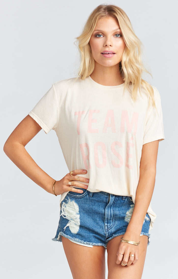 Show Me Your Mumu Coalson Tee - Team Rose