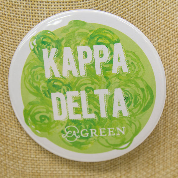 Kappa Delta Button, Sorority - Kappa Delta - shoplagreen.com