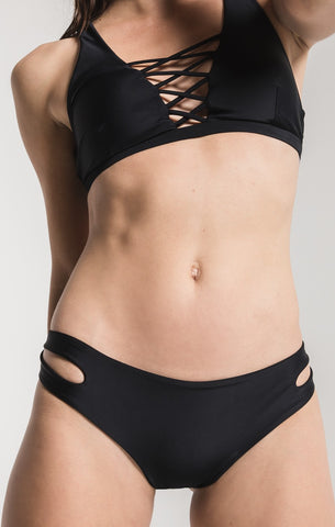 The Ema Cut Out Bottom - Black