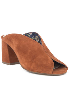Seychelles By The Beach Heels - Whiskey Suede