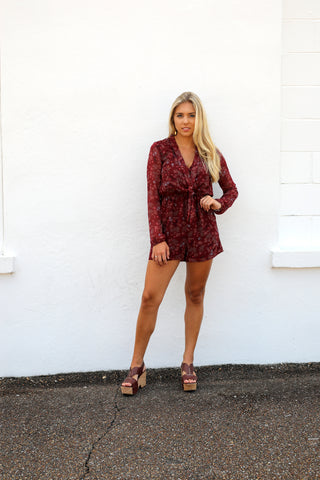 BCBG Jumper Scarf Romper, Dress Shop - shoplagreen.com