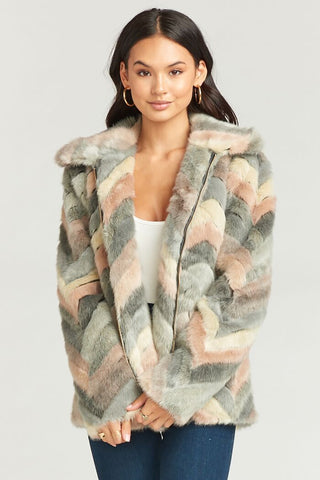 Ricci Jacket Girl Talk Faux Fur