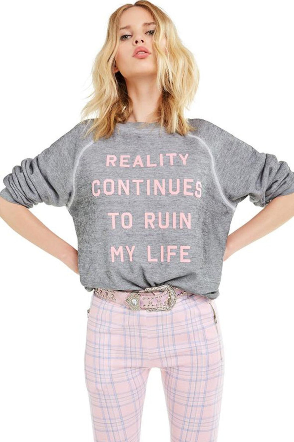 Reality Sweatshirt - Heather Grey