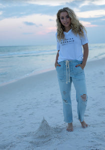 Hi y'all fl mermaid  tee
