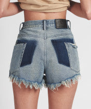 One Teaspoon Bonita High Waist Denim Short