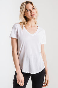 The Perfect V-neck - White