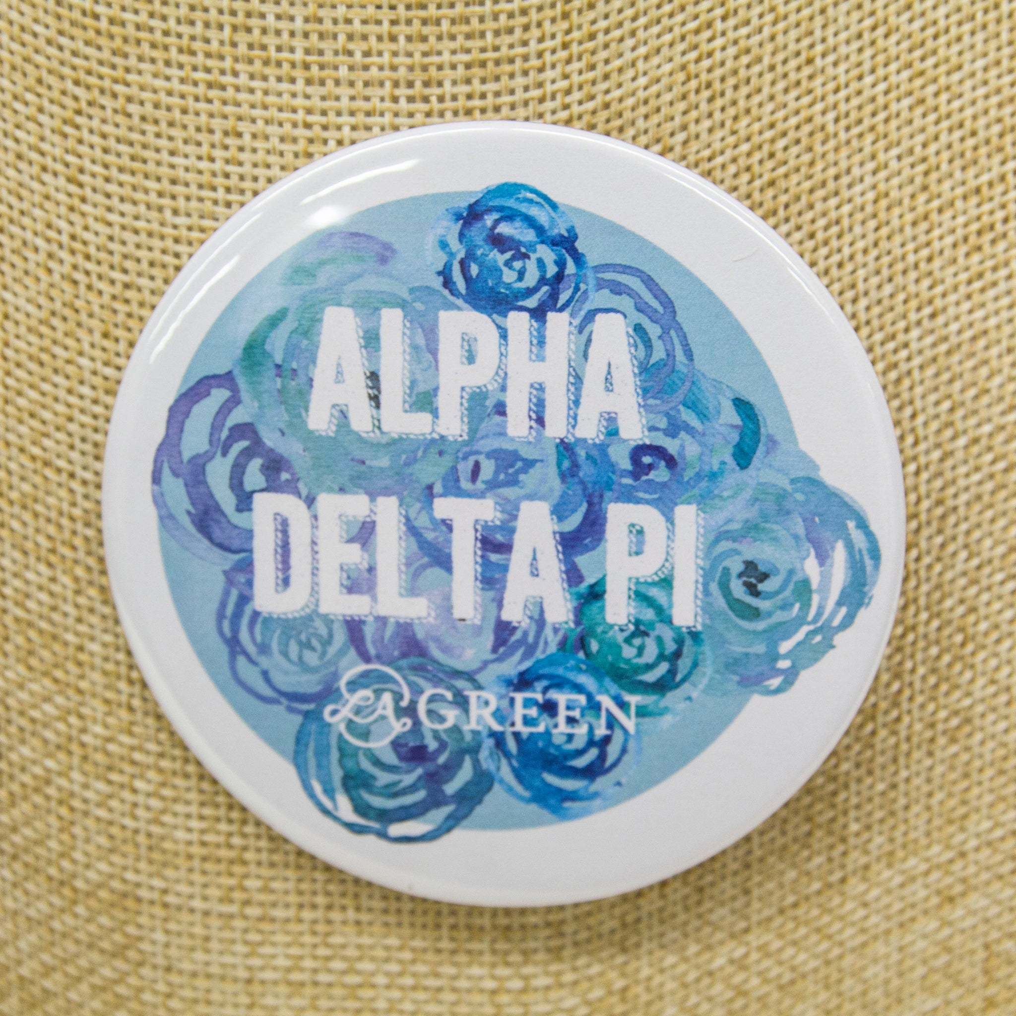 Alpha Delta Pi Button, Sorority - shoplagreen.com