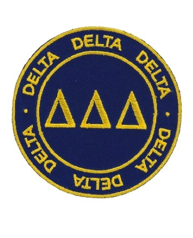 Peel & Stick Patch Delta Delta Delta, Sorority - Tri Delta - shoplagreen.com