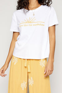 Like The Sun Graphic Tee