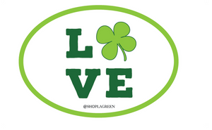 Love Shamrock KD Sticker Decal, Sorority - Kappa Delta - shoplagreen.com