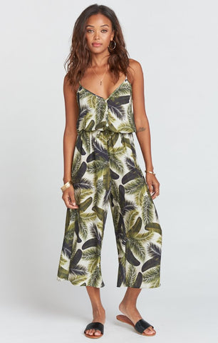 Show Me Your Mumu Dree Playsuit - Fronds of Mine
