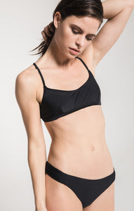 The Rae Sporty Top - Black