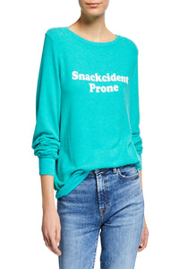 Snackcident Prone Tee - Emerald Green