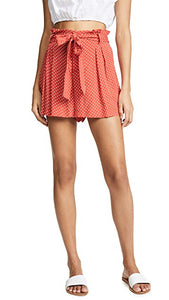 Blue Life Carina Short - Red Dot