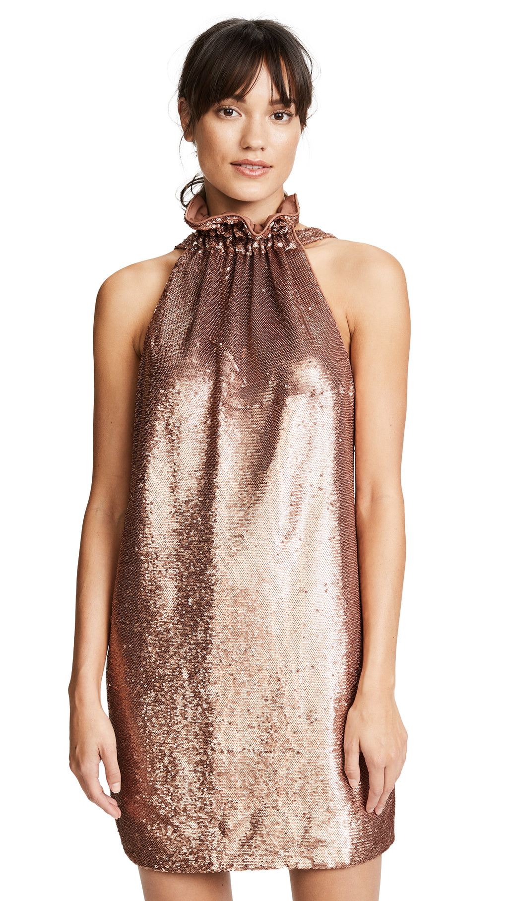 CMEO Illuminated Sequin Dress