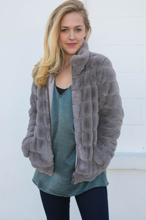 Dylan Fur Love Jacket, Outerwear - shoplagreen.com