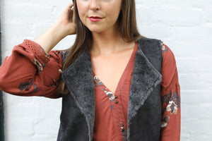 Elaine Blouse, Tops - shoplagreen.com