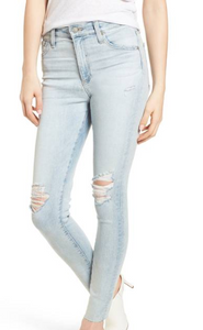 AG Farrah Skinny Ankle 24 Years Seabird, Bottoms - shoplagreen.com