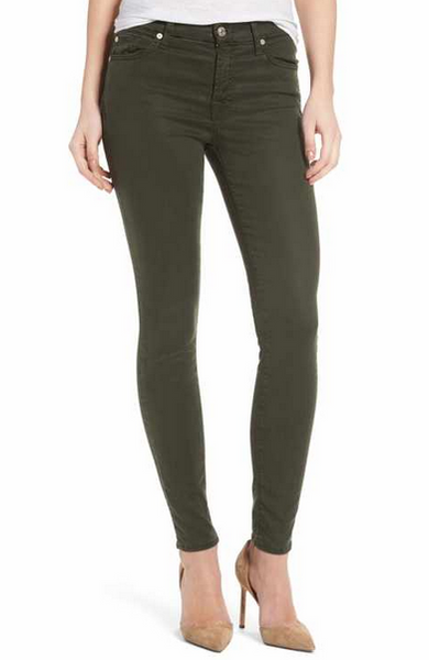 AG The Legging Ankle Climbing Ivy, Bottoms - shoplagreen.com