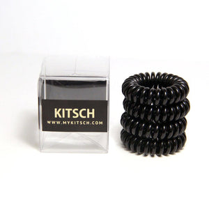 Kitsch Hair Coils - 4pack - Black