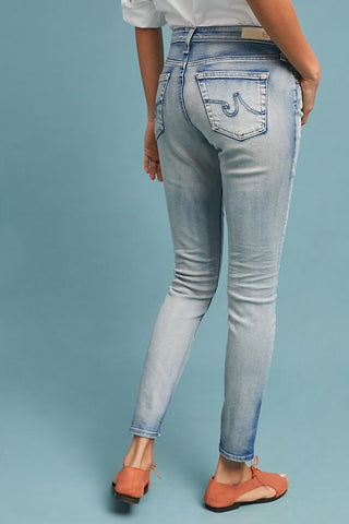 AG The Legging Ankle 18 Years Tainted Clouds, Bottoms - shoplagreen.com