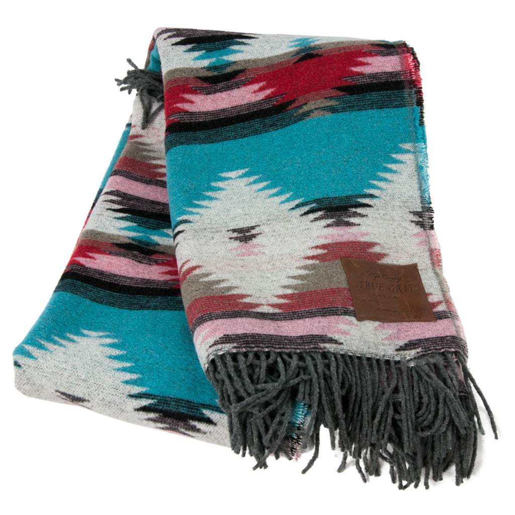 Mesa Tribal Fringe Blanket
