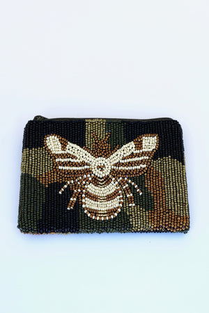 Moyna Coin Purse - Camo Sweet Bee