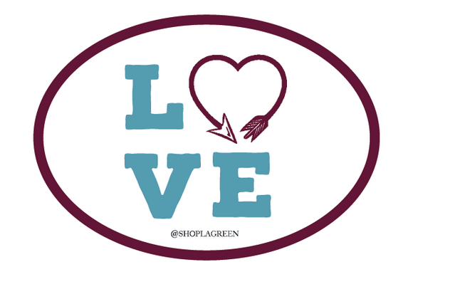 Love Arrow Pi Beta Phi Decal Sticker, Sorority - Pi Beta Phi - shoplagreen.com