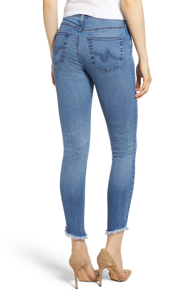 AG Farrah Skinny Ankle Jean - 15 Years Chronic