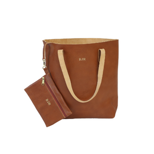 Jon Hart Everyday All Leather Tote