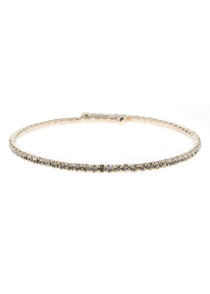 Theia Black Diamond Bangle