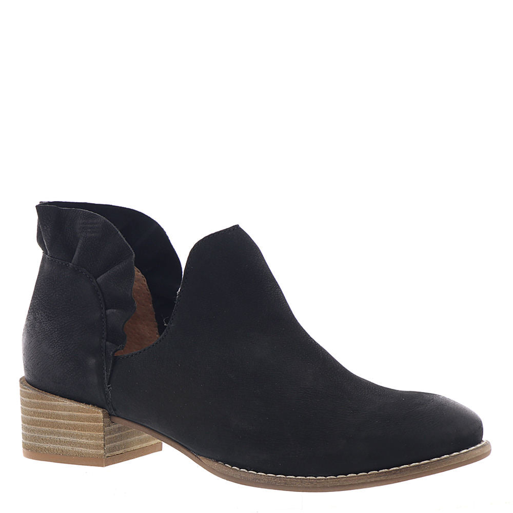 Renowned Nubuck Booties - Black