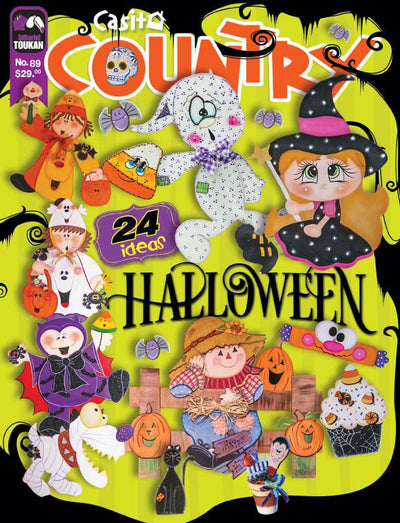 Casita country 89 - Halloween - Formato Digital - ToukanMango