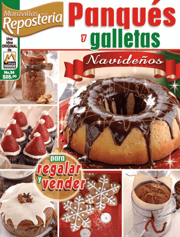 Maravillas de la Repostería 34 - Panques y Galletas - Formato Digital