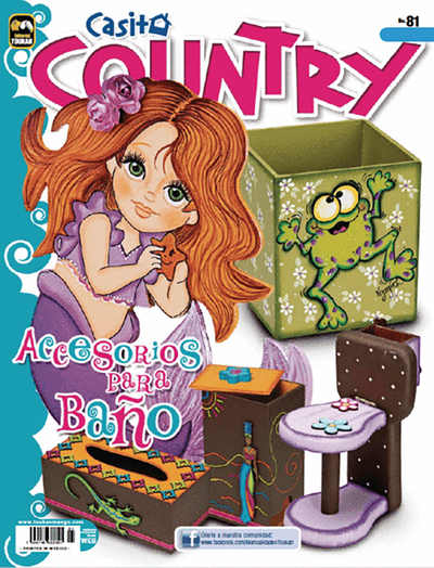 Casita country 81 - Accesorios para baño - Formato Digital