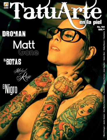 Tatuarte en la Piel No. 134 - Matt Gone - Formato Digital