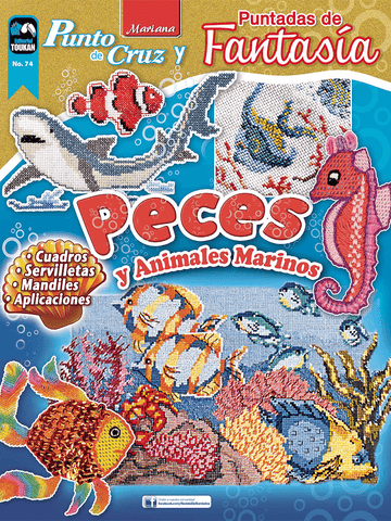 Revista Mariana punto de Cruz no. 74 - Peces y Animales Marinos - Formato Digital