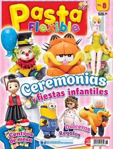 Pasta flexible 8 - Ceremonias y fiestas infantiles - Formato Digital