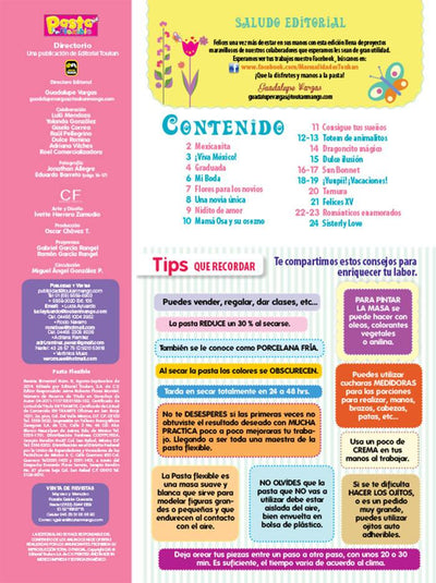 Pasta Flexible 9 - Ideas para tus eventos - Formato Digital - ToukanMango