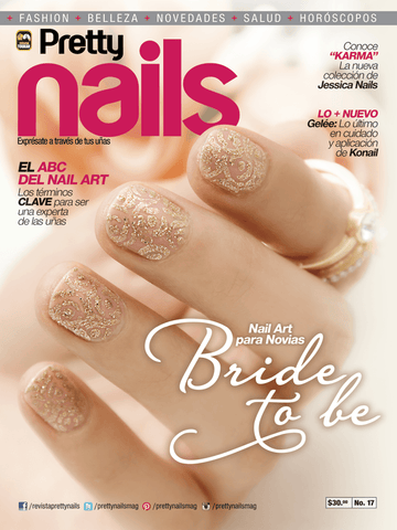 Pretty Nails 17 - Nail Art para Novias - Formato Digital